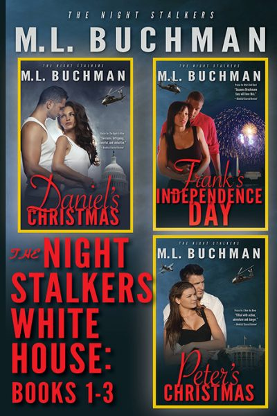 The Night Stalkers White House: Books 1-3