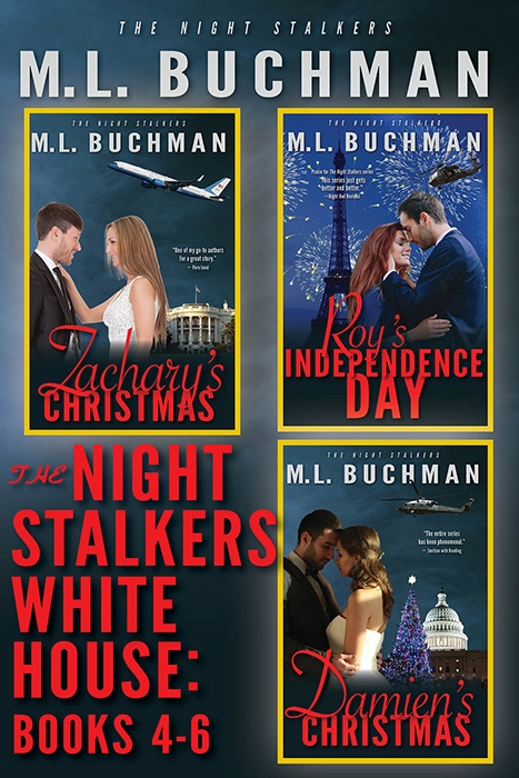 The Night Stalkers White House: Books 4-6 (print)