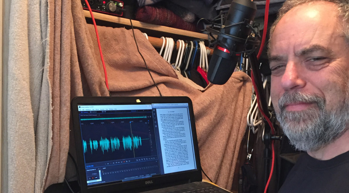 Ever wonder how audiobooks are made?