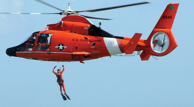 Flying Beyond the Bar-a USCG romance