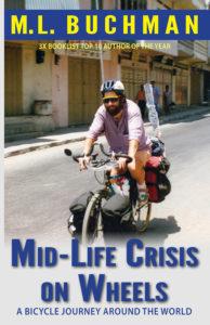 mid-life crisis bicycle journey adventure