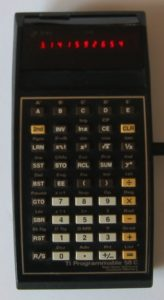 TI 58 Calculator