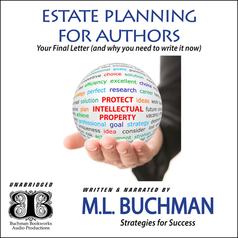 Estate Planning for Authors: your Final Letter (and why you need to write it now) (audio)