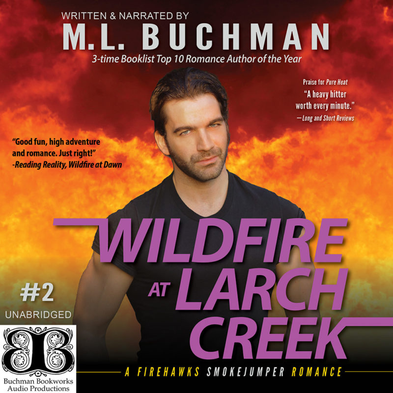 Wildfire at Larch Creek (audio)