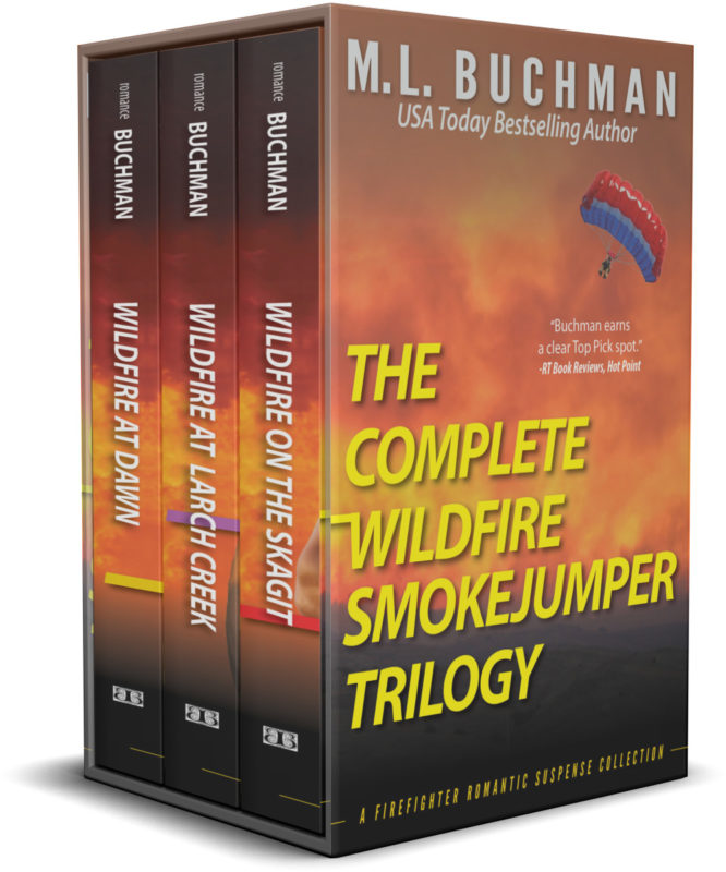 The Complete Wildfire Smokejumper Trilogy