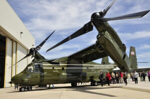 Green Side helicopter