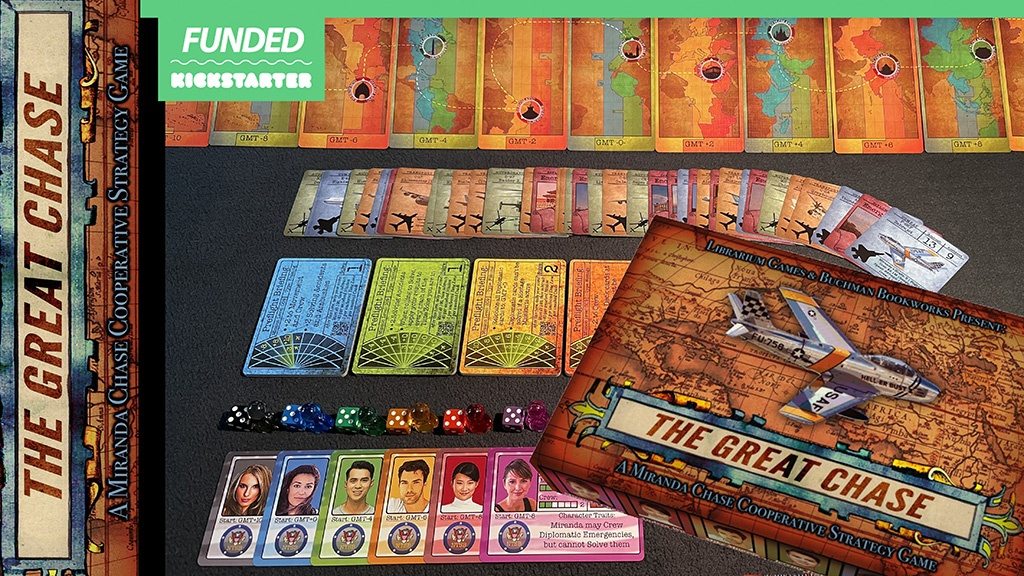 The Great Chase tabletop game